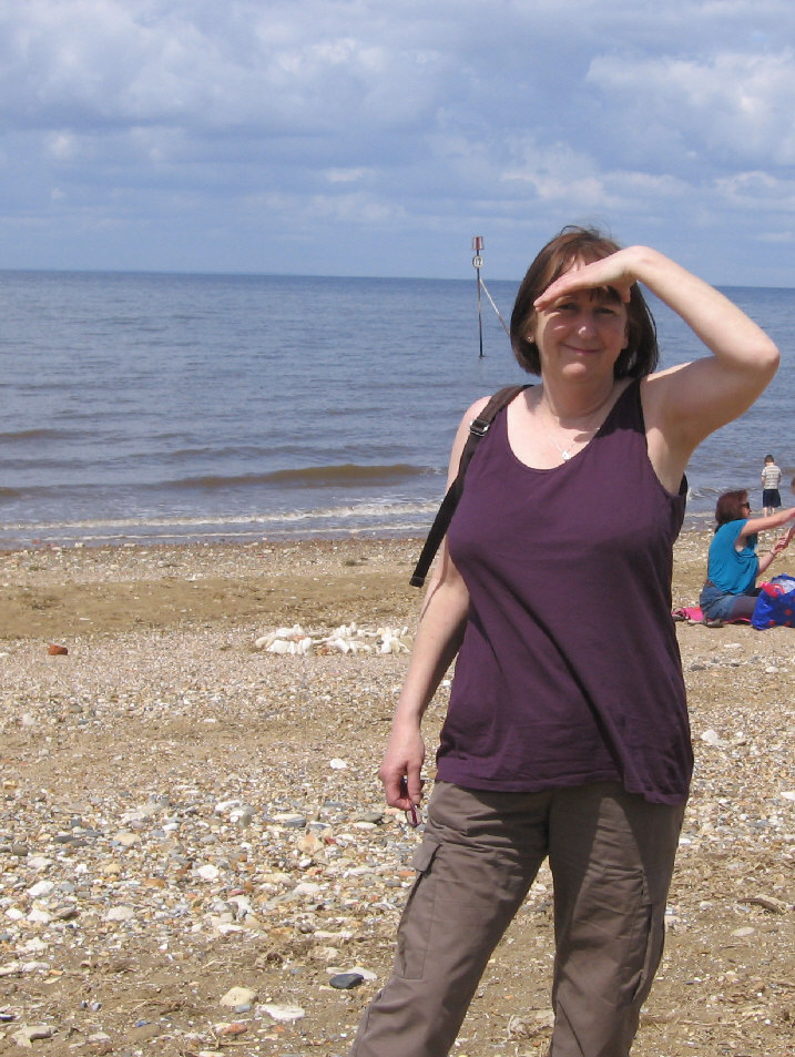 jane at hunstanton 2013 cfs/me visit